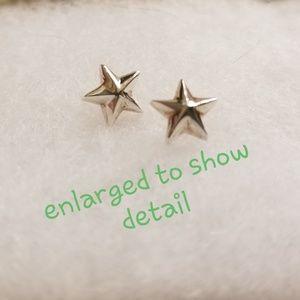 ⭐⭐JARED JEWLERS Sterling Silver Star Earrings